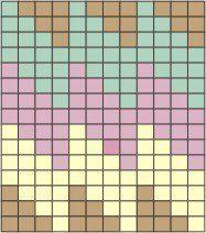 jpg 187 × 212 pixels - My site Beaded Bracelet Patterns, Bead Loom Patterns, Mosaic Patterns, Quilt Patterns, Knitting Charts, Knitting Stitches, Knitting Patterns, Punto Fair Isle, Mochila Crochet