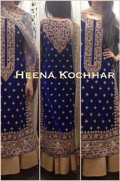 Luscious Velvet and Embroidery Dress code Anarkali Dress, Red Lehenga, Lehenga Choli, Sharara, Pakistani Bridal, Indian Bridal, Bridal Lehenga, Pakistani Outfits, Indian Outfits