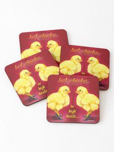 'Will Bullas / coasters / hot chicks in high heels. / chicken' Coasters by Will Bullas Bar Art, Sell Your Art, Coasters, Finding Yourself, High Heels, Artists, Chicken, Hot, Unique