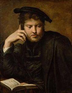 Man with a Book - Parmigianino 16 Й Век, Вена, Микеланджело, Импрессионизм, 35adf1523ad