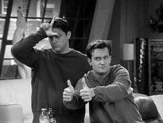 giggl snort, friends joey and chandler