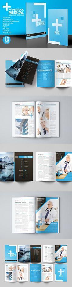 An unforgettable design! Top Pharmacy Brochure Designs - interior design brochure template