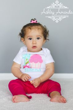 Girls First Birthday Outfit  First Birthday by sweettulipsboutique