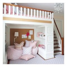 Apartments toronto ontario kids bedroom loft girls room with lofted bed nightingale design home outlet center . Bedroom Loft, Dream Bedroom, Bedroom Decor, Bedroom Ideas, Loft Bed Room Ideas, Girl Room Decor, Magical Bedroom, Bedroom Romantic, Bedroom Makeovers