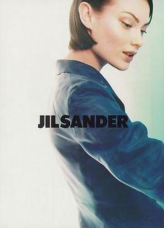 Campaign: Jil Sander Season: Spring 1995 Photographer: Craig McDean Model(s): Shalom Harlow