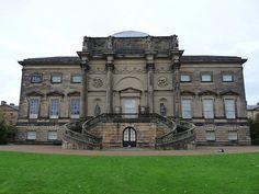 Rear of Kedleston Hall (the south front) - Robert Adam