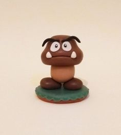 Miniatura Goomba - Super Mario Bros. https://fun-bit.lojaintegrada.com.br/miniatura-media-goomba-super-mario