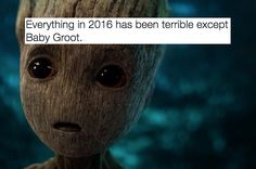 """Everyone Is Obsessed With Baby Groot From The """"Guardians Of The Galaxy Vol 2"""" Teaser Trailer #IAmGroot"""