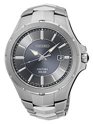 Seiko USA Coutura Solar Men's Watch SNE411