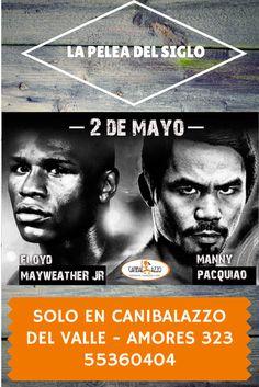 La Pelea del Siglo 2 de Mayo solo en Canibalazzo Del Valle - Amores 323 - 55360404