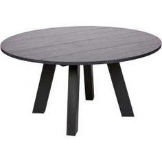 WOOOD tafel Rhonda Ø150x75 cm Eettafel, Eetkamertafel en
