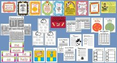 Mega Bundle (10) Year Long Literacy Stations from IncredibleKKids on TeachersNotebook.com -  (812 pages)  - Mega Bundle - Ten, Year Long Literacy Stations Purchase this bundle and you will have 10 literacy stations that will last all year long.  These include the top 100 sight words. A big bundle with a big savings!