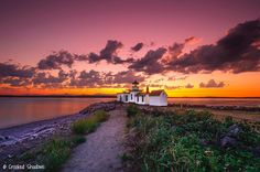 A fiery sky at Discovery Park in Seattle, Wash.  Gopal Seshadrinathan, Your Take