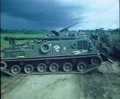 """""""Wild Things"""", a US Army M88 armored recovery vehicle"""