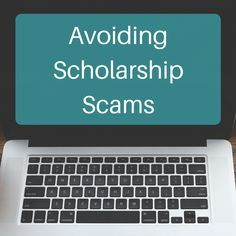 There are scholarship scams out there. Check out these red flags to avoid when searching for scholarships.