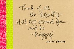 Anne Frank, truly an inspiration!