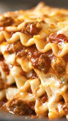 Simply Lasagna Recipe