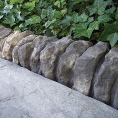 Traditional Ancestry Paving Edging Abbey Storm, (L)510mm (H)160mm (T)125mm Pack…