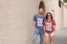 cool cats in our one of our most comphy tees yet! #TAILGATING #cowboys