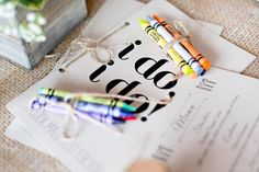 Coloring books for the kids | Photography by Vibrenti: http://vibrenti.com/weddings/