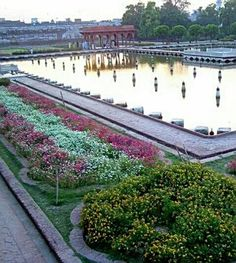 The historical Shalimar Gardens, Lahore.