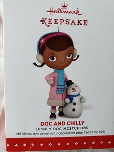 d23d49a8eef Hallmark Disney Doc Mcstuffins Chilly Vet 2015 Christmas Holiday Tree  Ornament  Hallmark Hallmark Keepsake Ornaments