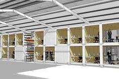 more shipping container offices