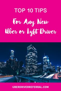 Are you a new Uber or Lyft driver? We are sharing our top 10 tips to help you optimize your time on the road and make more money faster.