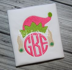 Monogram Girl Elf Etsy listing at https://www.etsy.com/listing/210511248/monogram-girl-elf-mini-machine