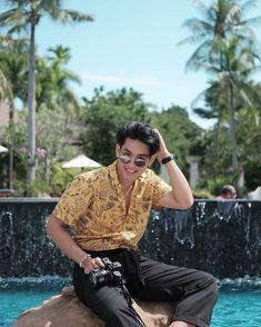 "Krittanai Asanprakit (nammon💦) บน Instagram: ""Your Smile :) • @seasandsunpty •"" Vampire Sphere, Your Smile, Gun, Hair Cuts, Mood, Actors, Celebrities, Instagram, Haircut Designs"