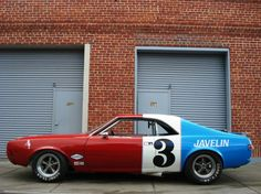 Sometimes cars are just a little too awesome, this is one of those times!  1968 AMC Javelin Trans-Am,