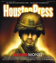 Blood Money  More than 200 soldiers are suing KBR for knowingly exposing them to toxic chemicals in Iraq, whose effects started with nose bleeds and could end with cancer. KBR says that didn't happen. But even if it did, the company isn't responsible. Taxpayers are.