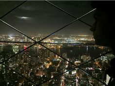 New York City view from Empire State Building.