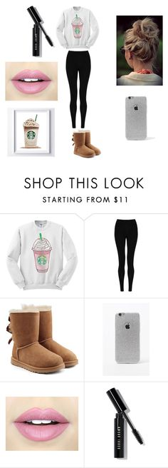 """""""Basic White Girl #2"""" by arden-fincher on Polyvore featuring M&S Collection, UGG Australia, LA: Hearts, Fiebiger and Bobbi Brown Cosmetics"""