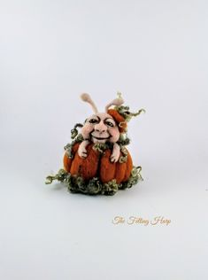 Excited to share the latest addition to my #etsy shop: Needle felted pumpkin,wool sculpture pumpkin,felted pumpkin,cute pumpkin,snail pumpkin,happy halloween pumpkin,ooak pumpkin,pumpkin decor #fiberart #orange #halloween #feltedpumpkin #snailpumpkin #orangepumpkin #halloweenpumpkin #pumpkindecor #art https://etsy.me/2NlmPeF