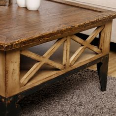 Rex Square Coffee Table (Indonesia) | Overstock.com Shopping - Top Rated Coffee, Sofa & End Tables