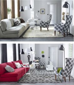 The beauty of STOCKHOLM is its ability to blend in with the furniture you already have, creating a personal and eclectic mix of styles. It is a family that resembles each other, especially when standing together, but that also has unique personalities.