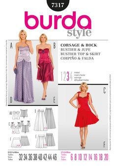 Simplicity : FINALLY a strapless sweetheart neckline! Been looking for this for ages! Burda Patterns, Sewing Patterns, Style Patterns, Bustier Top, Strapless Sweetheart Neckline, Corsage, Pattern Fashion, Spring Summer, Summer Dresses