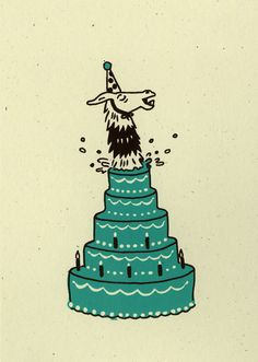Llama Birthday Surprise