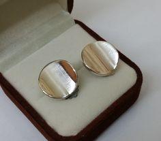 Vintage Ohrclips - Ohrclips 925er Silber wellenförmig elegant SO163 - ein Designerstück von Atelier-Regina bei DaWanda