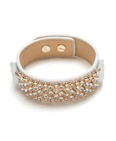 Pave Glam Cuff Bracelet