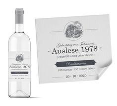 Weinetiketten selbst gestalten | Planet-cards.de