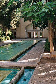 Persian Gardens, (Garden of Fin), Kashan, Iran