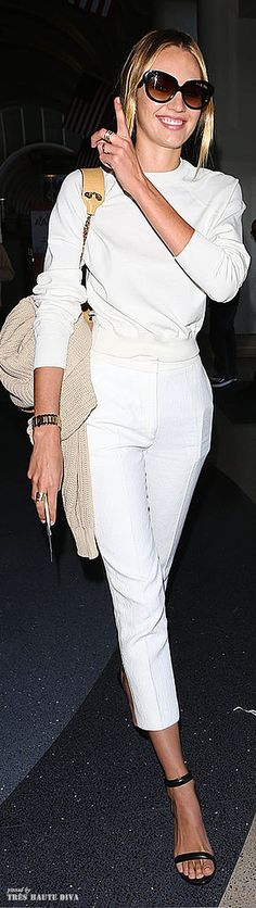 Candice Swanepoel - stunning in black & white