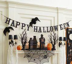 Happy Halloween garland from Pottery Barn Kids, $17