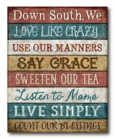 Another Southern porch necessity... what a cute welcome mat this would be
