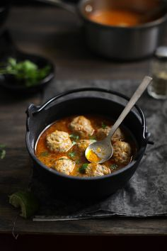 Mutton Meatball Soup