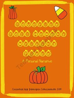 Favorite Fall Moment: A Personal Narrative from EndeavorsinEducation on TeachersNotebook.com -  (6 pages)  - Help your students use sensory details in their writing. This fun personal narrative writing piece will guide students along the writing process from brainstorming to editing. A rubric is included.