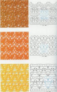 52 ideas for crochet lace motif baby blankets Baby Knitting Patterns, Lace Knitting, Baby Patterns, Stitch Patterns, Crochet Patterns, Crochet Ideas, Knitting Ideas, Crochet Stitches Chart, Crochet Diagram