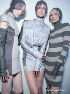 Gareth Pugh's mostly grey S/S collection
